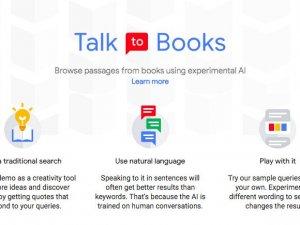 Google yapay zeka ile kitaplarla konuşturacak
