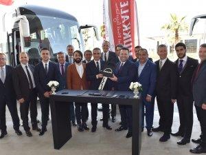 MAN, Pamukkale Turizm'e 35 araç teslim etti