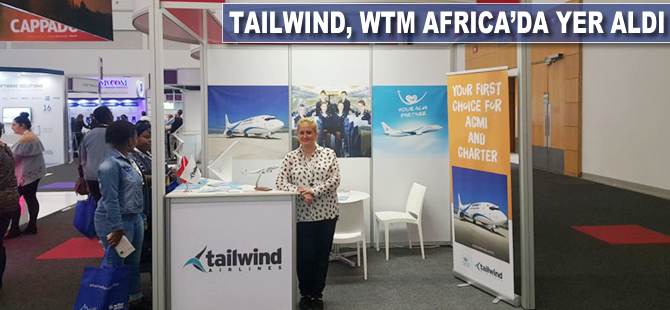 Tailwind, WTM Africa'da yer aldı