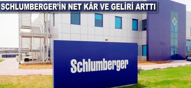 Schlumberger'in net kâr ve geliri arttı