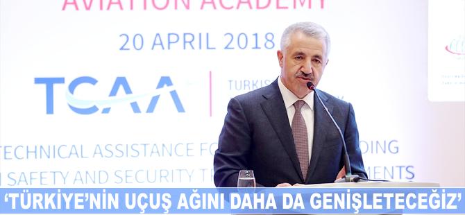 Ahmet Arslan: Türkiye'nin uçuş ağını daha da genişleteceğiz