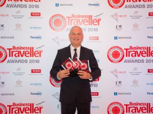 Emirates 2018 Ortadoğu İş Seyahati Ödülleri'nde dört ödül aldı
