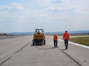 Esenboğa Havalimanı'ndaki çalışmalar devam ediyor