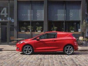 Ford Fiesta Van yenilendi