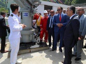 Rize'de Denizde Emniyet Eğitimleri Tesisi'nin açılışı yapıldı