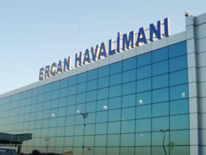 Ercan Havalimanı Larnaka'nın gerisinde kaldı
