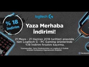 Logitech G PC Gaming'de yüzde 18 indirim