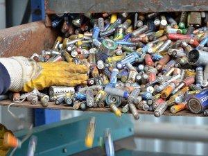 Türkiye'de 10 yılda 5 bin ton atık pil toplandı