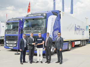 Köknar, filosunu Volvo Trucks ile güçlendiriyor