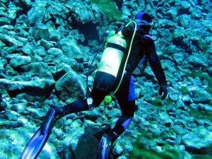 AFAD'ın dalgıçlarından 'doğal akvaryum'da gönüllü temizlik