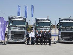 Özakar Nakliyat'ın filosunun tamamı Volvo Trucks çekiciden oluşuyor