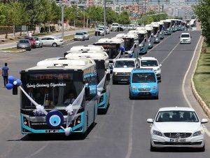 Diyarbakır Belediyesi 50 yeni toplu taşıma aracı aldı