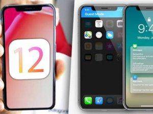 iOS 12'de iPhone'lara müthiş özellik