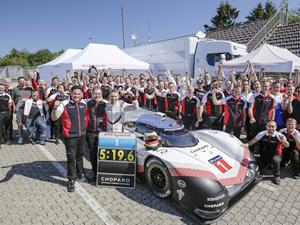 Porsche 919 Hybrid Evo Nürburgring pistinde rekor kırdı