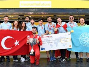 Shell Eco-Marathon Avrupa'da Uludağ Üniversitesi birinci oldu