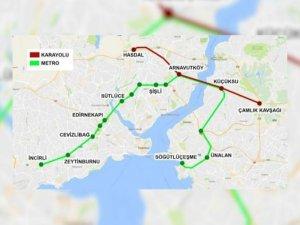 Büyük İstanbul Tüneli'nin güzergahı belli oldu