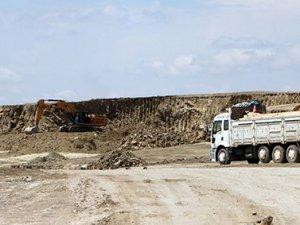Yozgat Havalimanı'da çalışmalar devam ediyor