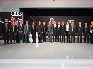 Audi dünyasının en iyileri Türkiye'den!