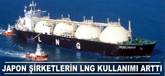 Japon şirketlerin LNG kullanımı azaldı