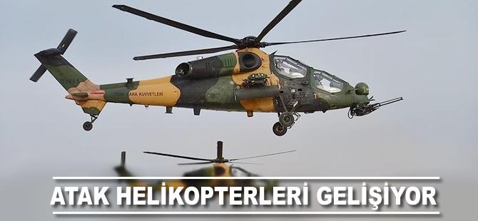 ATAK helikopterlerinin daha gelişmiş modelleri gelecek