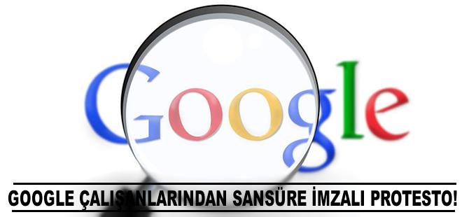 Google çalışanlarından sansüre karşı imzalı protesto
