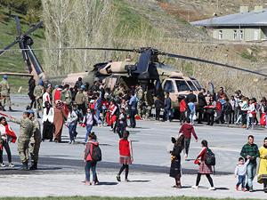 Avustralya'da helikopter düştü