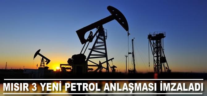 Mısır üç yeni petrol anlaşması imzaladı