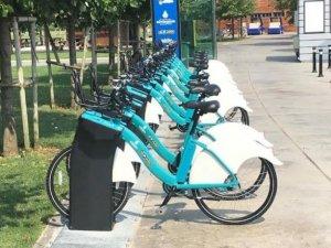 Karaköy-Sarıyer arasında akıllı bisiklet parkuru oluşturuldu