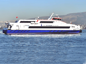 İzmir Körfezi'nde yolcu sayısı 1 milyonu aştı