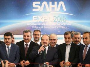 SAHA EXPO Fuarı, kapılarını açtı