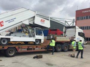TGS ekipmanları, Yeni Havalimanı için yola çıkıyor