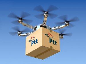 PTT drone ile taşımacılığa başlıyor