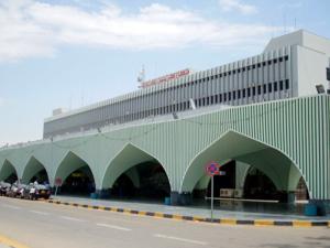 Mitiga Havalimanı'nın güvenliği milislerden alındı