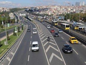 İstanbul'da trafik yoğunluğu yüzde 17 azaldı