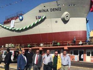 M/T Mina Deniz bugün denize indirildi