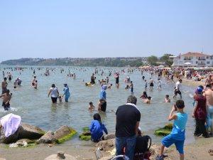 Silivri'de deniz temizliği çalışması yapıldı