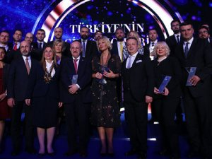 Türkiye'nin en iyi girişimcileri ödüllerini aldı