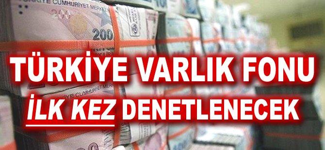 Türkiye Varlık Fonu ilk kez denetlenecek