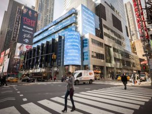 Wall Street'ta sert düşüş yaşandı