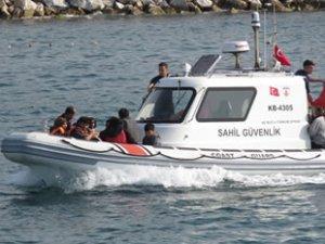 Sahil Güvenlik, 275 göçmen yakaladı