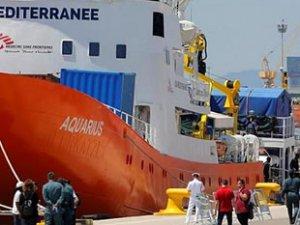 İtalya'dan sığınmacıları kurtaran gemiye el koyma kararı
