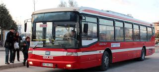 Belediye Otobüslerinde her an sürpriz yaşayabilirsiniz!