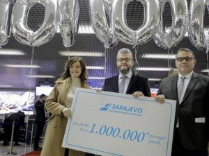 1 milyon yolcu rekoru