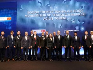 Boeing ilk mühendislik ve teknoloji merkezini Türkiye'de açtı