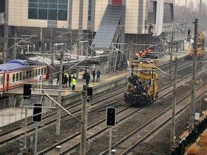 Tren kazasıyla ilgili açıklama yaptı