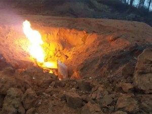 Doğal gaz patlaması sonucu çıkan Yangın söndürüldü!