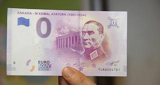 Mustafa Kemal Atatürk portreli Euro bastılar!