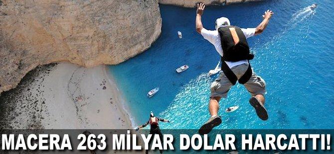 Macera 263 milyar Dolar harcattı!