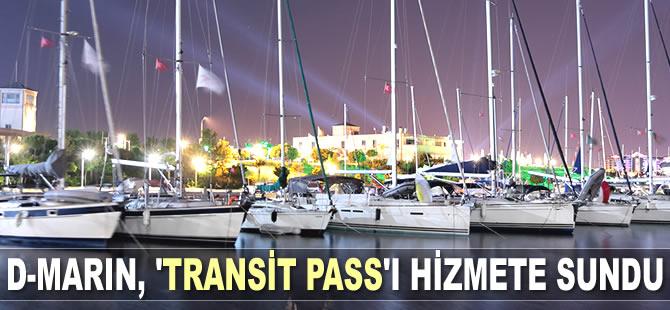 D-Marin, yeni uygulaması 'Transit Pass'ı hizmete sundu