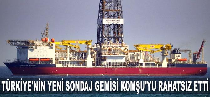 Türkiye'nin yeni sondaj gemisi Yunanistan'ı rahatsız etti